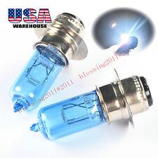 For Kawasaki KVF300 KVF400 Prairie Super White Headlight Bulb 1999 00 01 2002 x2