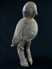 Art African tribal - Antique Bird Ritual Lobi - Statue Wooden - 49 CMS