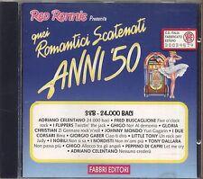Quei Romantici Scatenati Anni '50 38B FLIPPERS I NOBILI JOHNNY MONDO CORSARI CD