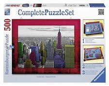 Ravensburger 14894. Ensemble Complet puzzle avec cadre de 500 PC. Neuf York