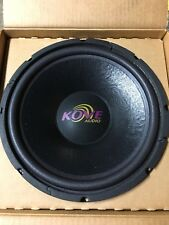 "NEW Pair Old School Kove Audio KVS12-4 12"" Subwoofer,Rare,NOS,USA Made"
