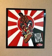 Hosoi Pizza Nista! Vans 2012 Sticker/Decal, Skateboard
