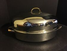Command Performance Roaster Pan with Lid Lifting Liner 3 Ply Base