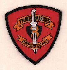 3rd Marines  USMC Patch 3  inch