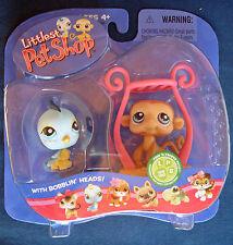 L3 Littlest Pet Shop #189 190 Bluebird Monkey