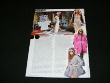 ANNA DELLO RUSSO magazine clipping from 2010