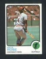 1973 Topps #130 Pete Rose NM/NM+ Reds 115487