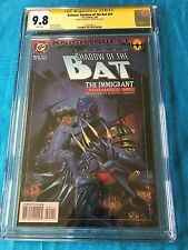 Batman: Shadow of the Bat #24 - DC -CGC SS 9.8 NM/MT -Signed by Brian Stelfreeze