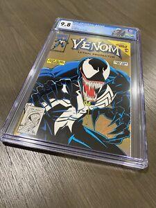 Venom #1 Lethal Protector Gold CGC 9.8 NM/M Marvel Comic Spider-man 1993
