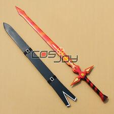 Sword Art Online Kirito White Sword in Fire Color PVC Cosplay Prop