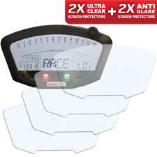 4 x DUCATI 848 / 1098 / 1198 - Instrument / Dashboard / Screen Speedo Protector