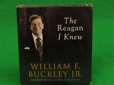 The Reagan I Knew Audio CD – Audiobook, Unabridged by William F. Buckley Jr. (A