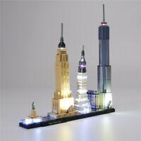 LED Light Kit For LEGO 21028 Architecture New York City Building Blocks DIY Toy