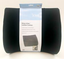 Duro-Med Relax-A-Bac Lumbar Cushion Lower Back Support Pillow 555-7302-0200 NEW
