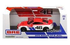 GREENLIGHT 1:43 NISSAN SKYLINE GT-R R35 BRE RACING LIMITED EDITION NEW 51069 NEW