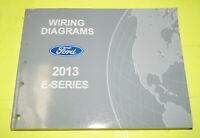 2013 Ford E-Series Econoline OEM EVTM Factory Wiring Diagrams Repair Manual