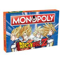 Monopoly Edición Dragon Ball Z - Juego de Mesa - Versión en Español - 6 Fichas