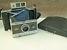 Vintage 1970's Polaroid Automatic 250 Land Camera, Case & Accessories
