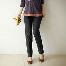 M-XL Pregnant Women Abdominal Maternity Casual Pants Belly Leggings Trousers