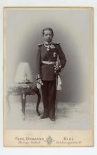 Waldemar von Preussen Vintage silver print. Le prince Waldemar William Louis F