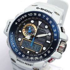 CASIO G-SHOCK GULFMASTER MENS WATCH SOLAR GWN-1000E-8A PALE BLUE GWN-1000E-8ADR
