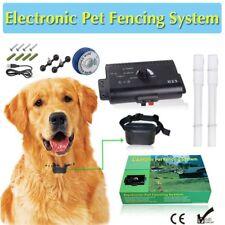 Hidden Dog Pet Containment System Electric Shock BoundaryControl Fence Collar Ku