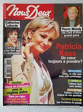 Photoromans NOUS DEUX 27/3/2007; Patricia Kaas/ Pierre Mondy/ Catherine Laborde