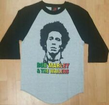 Bob Marley & The Wailers Men's Small 3/4 Sleeve Shirt