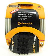 Continental Trail King 29 x 2.4 Mountain Bike Tire, Folding