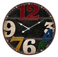 Decoration - En Panneau- Vintage - Pendule / Horloge (Neuf)