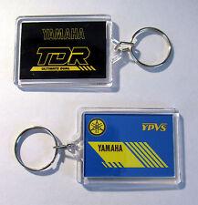 Couleur Assortie TDR 250 TDR250 Noir ou Bleu Porte-clés