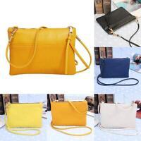 Womens Leather Small Handbag Satchel Messenger Cross Body Bag Shoulder Bag Purse