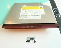 Genuine Dell Vostro 1520 laptop DVD/CD WR REWRITABLE Drive. AD-7580S. Red Bezel.