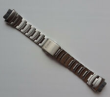Genuine Replacement Watch Band 17mm Stainless Steel Bracelet Casio AQ-160WD-1B