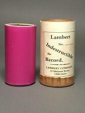 Pink Lambert Cylinder –Spiritual Hymn; Less Common Title