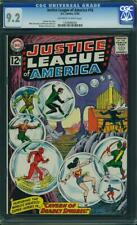 JUSTICE LEAGUE OF AMERICA #16 CGC 9.2 OWW 3RD HIGHEST GRADED CGC #1309898009