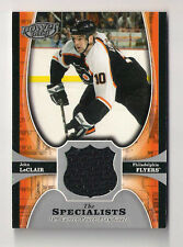 05/06 UD POWER PLAY JOHN LECAIR THE SPECIALISTS JERSEY CARD