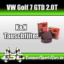 K&N Luftfilter für VW Golf 7/VII GTD 2.0T 184PS - Sportluftfilter