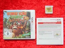 Donkey Kong Country Returns 3D, Nintendo 3DS Spiel, deutsche Version