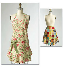 Butterick 5125 Very Easy Sewing Pattern to MAKE Full & Half Apron in 3 sizes S-L