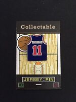 Detroit Pistons Isiah Thomas lapel pin-Hardwood Collectable-#1 Best Seller/Gift