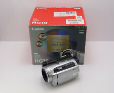 CANON HG10 CAMCORDER BOXED HD DIGITAL HIGH DEFINITION 40GB HARD DRIVE VIDEO