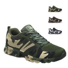 Herrenschuhe Camping Sneaker Turnschuhe Klettern Dämpfung 43 44 45 Camo Unisex L