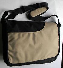 Notebook Laptop Case Umhängetasche Schwarz Tasche 45 x 35 cm 15/17 Zoll