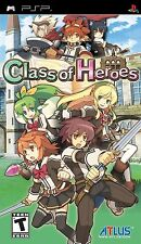 Class of Heroes [Sony PlayStation Portable PSP, ATLUS Dungeon Crawler JRPG] NEW