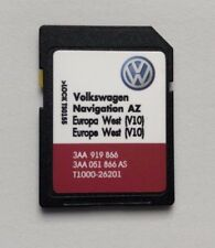 Volkswagen Skoda Seat Rns 315 2018 sd card map update V10 Europe West not for UK