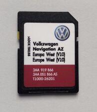 VOLKSWAGEN SKODA SEAT RNS 315 2018 Aggiornamento Mappe SD Card V10 Europa occidentale non per Regno Unito