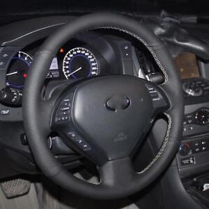 Steering Wheel Cover For Infiniti QX50 G25 G35 G37 EX25 EX35 EX37 2008-2013