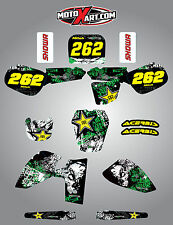 Kawasaki KX 60 1985 / 2004 Full  Custom Graphic  Kit GRAFFITI STYLE stickers