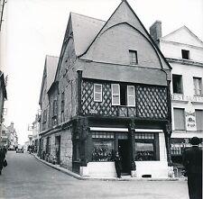 MONTRICHARD c. 1950 -Vieille Maison Rue du Port Commerce Loir-et-Cher - Div 5386